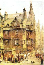 John Knox House by Sanderson