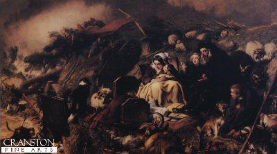 Flood in the Highlands by Sir Edwin Landseer.