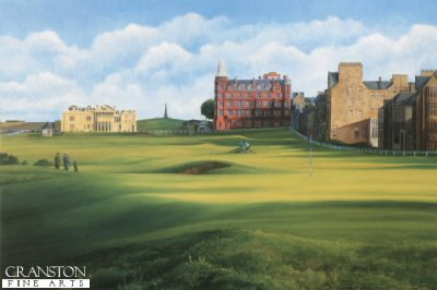 St. Andrews View From the 17th by Fraser Shaw