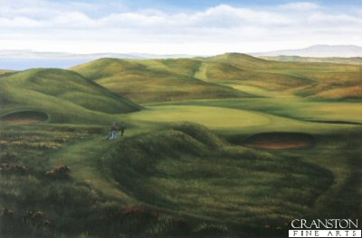 The Postage Stamp, Royal Troon by Fraser Shaw