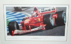 Fly Schumi Fly by Keith Murray.