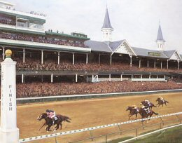 Breeders Cup Classic 2000 by Jacqueline Stanhope.