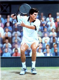 Tim Henman by Simon Smith