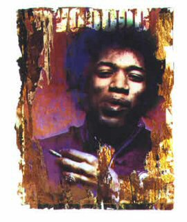 Jimi Voodoo by Gered Mankowitz