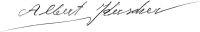 The signature of Albert Kerscher