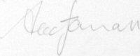 The signature of Alec Farrell
