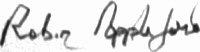 The signature of Flight Lieutenant Alexander N R L Appleford (deceased)