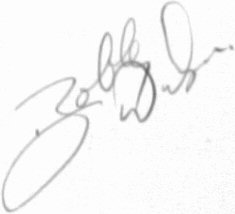 The signature of Bobby Windsor