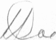 The signature of Wing Commander Bob Doe, DSO, DFC* (deceased)