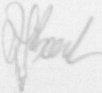 The signature of Lieutenant D Beech