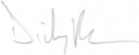The signature of Squadron Leader Dicky Patounas