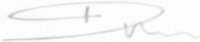 The signature of Squadron Leader Dunc Mason