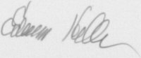 The signature of Lieutenant Colonel Edwin Heller