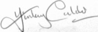 The signature of Finlay Calder