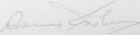 The signature of Sir Garfield Sobers