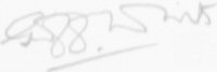 The signature of Fl/Lt G A White