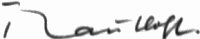 The signature of Hannes Trautloft (deceased)
