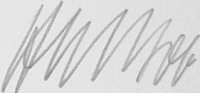 The signature of Major Hans-Ekkehard Bob