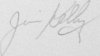 The signature of Warrant Officer James Kelly
