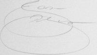The signature of Jason Robinson