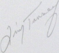 The signature of Jimmy Tansey