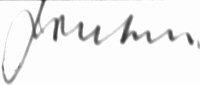 The signature of Air Marshal Sir John Nicholls KCB CBE DFC AFC (deceased)