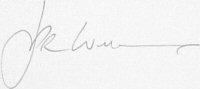The signature of J P R Williams