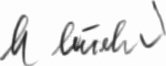 Photograph of the signature of Fahnrich Manfred Leisebein
