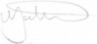 The signature of Squadron Leader Martin Higgins