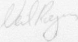 The signature of Flight Lieutenant N C Rogers