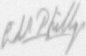 The signature of Lieutenant R E Phillips