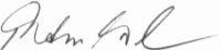 The signature of Hauptmann Rudolf Trenkel (deceased)