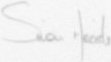 The signature of Flight Lieutenant S C Meade