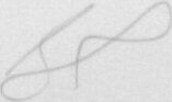 The signature of Flight Lieutenant Simon Rea