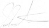 The signature of Flight Lieutenant Simon Stevens