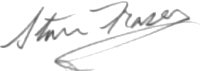 The signature of Lieutenant Stanley Fraser