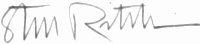 The signature of Brigadier General Richard Steve Ritchie
