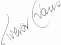 The signature of Trevor Evans