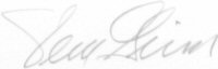 The signature of Captain Vernon L Grim