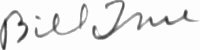 The signature of Sergeant William True (deceased)