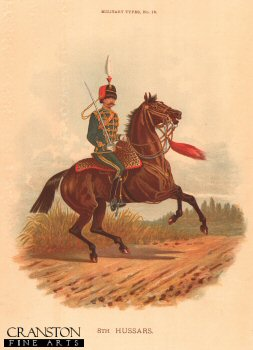 8th Hussars by Richard Simkin.