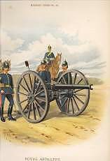 Royal Artillery by Richard Simkin.