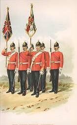 The Lincolnshire Regiment (10th Foot) by Richard Simkin (P)