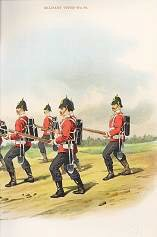 The Cheshire Regiment (22nd Foot) by Richard Simkin. (P)