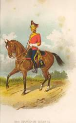 3rd Dragoon Guards by Richard Simkin.