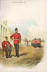 The York & Lancaster Regiment (65th & 84th Foot) by Richard Simkin (P)