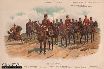 General Staff by Richard Simkin