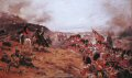 The Black Watch advance up the slopes of the hills overlooking the River Alma, defeating the Russian defenders. A British Victory in the Crimean Campaign.