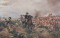 This subject shows the Duke of Wellington, Arthur Wellesley, offering encouragement to the infantry at some stage in the battle.......