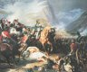 DHM045GL.  Battle of Rivoli by Felix Philipoteaux.